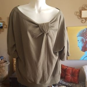 Marc by Marc Jacobs wool and cotton blend top